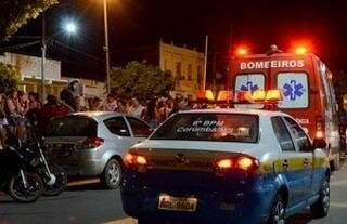 Policial militar foi morto na avenida 14 de Março, em Corumbá, no dia seguinte, o colega dele matou o autor do homicídio (Foto: Diário Corumbaense)