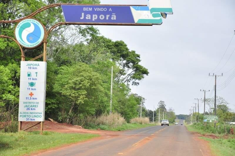 Japorã é sede novo área de conflito entre índios e produtores rurais em MS (Foto: João Garrigó/Arquivo)