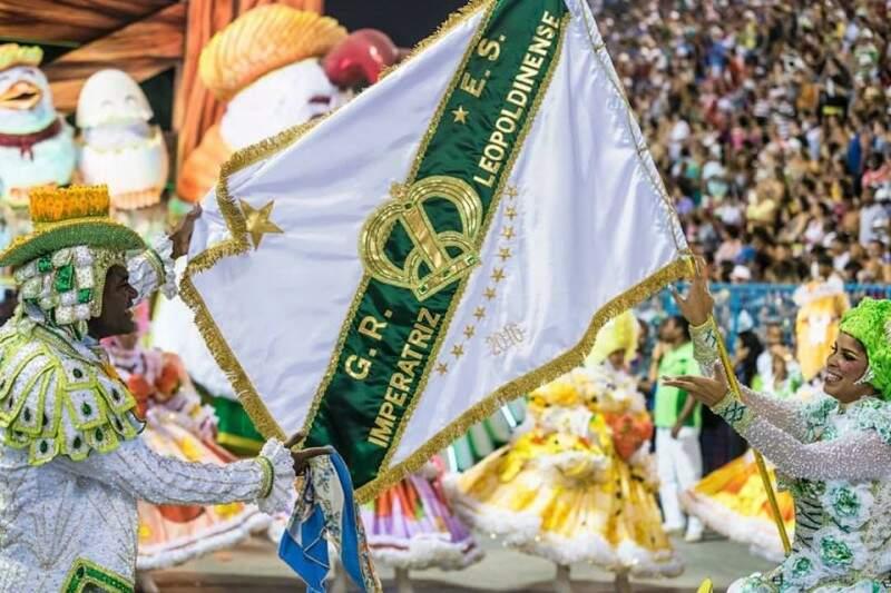 Imperatriz desfilando no Carnaval de 2016.