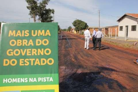 Governo reforma hospital municipal e entrega quadras cobertas em Taquarussu