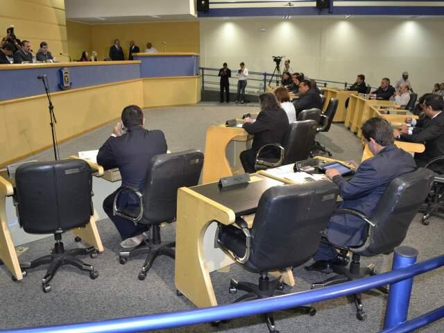 Sessão solene na Câmara de Vereadores (Foto: Fernando da Mata)