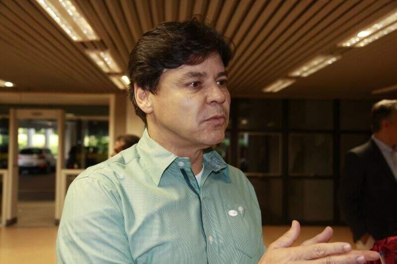 Paulo Duarte afirma que ontem foi discutido o plano de governo de Delcídio. (Foto: Cleber Gellio)