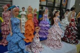 Feira trouxe até estilista de Barbie.