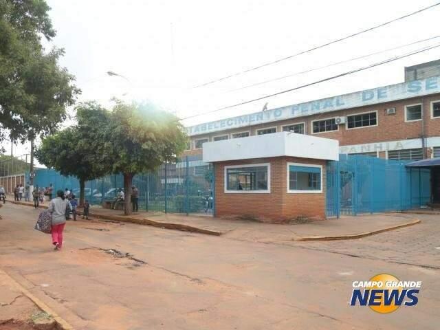 Presídio de segurança Máxima de Campo Grande é uma das que estão em alerta (Foto: Reprodução)