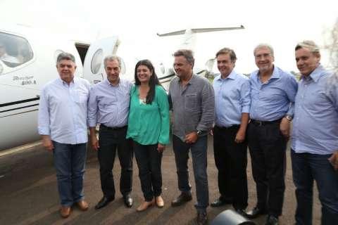 Além de Aécio, Doria e Alckmin também entram na campanha de Rose