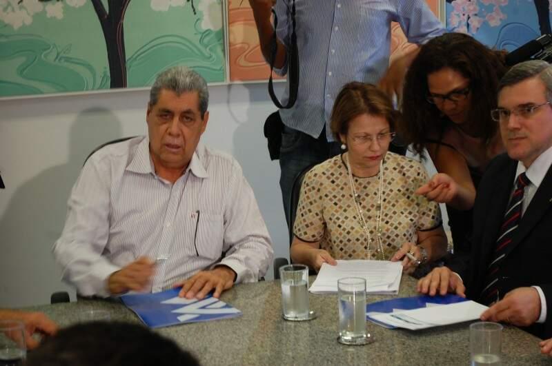 Solenidade de assinatura para financiamentos do FCO na Governadoria (Foto: Pedro Peralta)