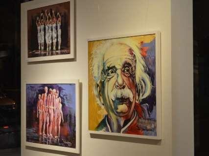 Exposição com obras de Ton Barbosa vai até o final desta semana