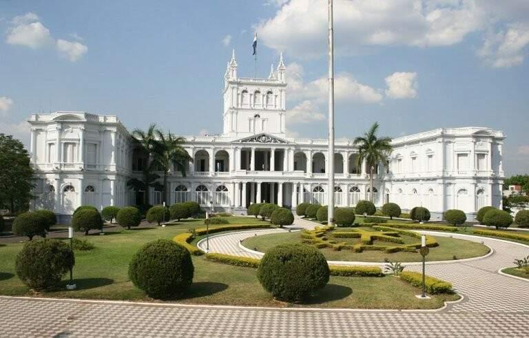 Palácio de los López sede do Governo do Paraguai