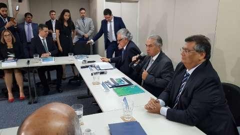 Reinaldo assume presidência de bloco que reúne MS, DF e mais cinco Estados