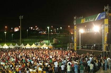 Primeiro MS Canta Brasil será no dia 29 de abril(Foto:Divulgação)