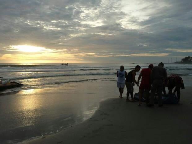 Corpo de Fernando foi encontrado em praia da orla de Matinhos, no litoral do Paraná, no último dia 9. (Foto: Almir Alves/Arquivo pessoal)