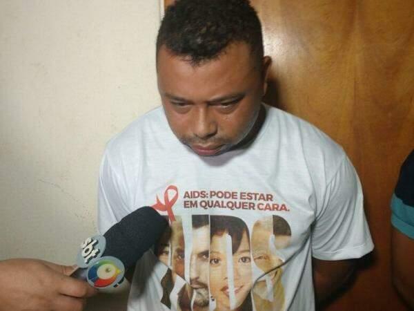 José Victor de Souza André de 32 anos, dizia ao filho que vendia rapadura ao invés de drogas. (Foto: Marcus Moura)
