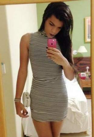 Geovanna é estudante de direito, linda e uma mulher determinada. (Foto: Arquivo Pessoal)
