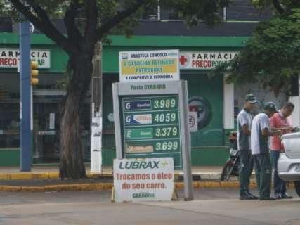 Além do etanol, preços do diesel e gasolina sobem quase R$ 0,10 em MS