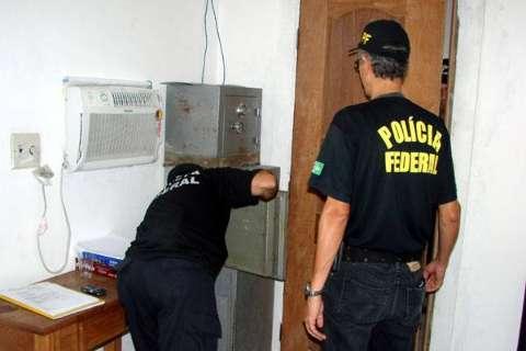 Operação Cristal da PF contra o tráfico cumpre mandados e faz prisões em MS