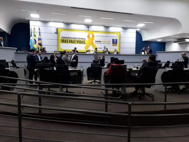 Com pedido de vista, comissão tem 15 dias para analisar o Projeto (Foto: Fernanda Palheta)