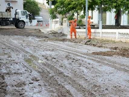 Corumbá vai demorar uma semana para contabilizar prejuízos da chuva