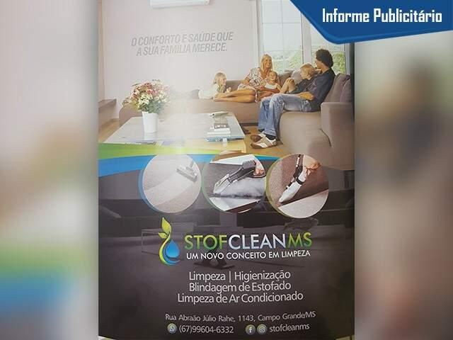 Stof Clean na Revista Guia Saúde Atual - Foto Divulgação