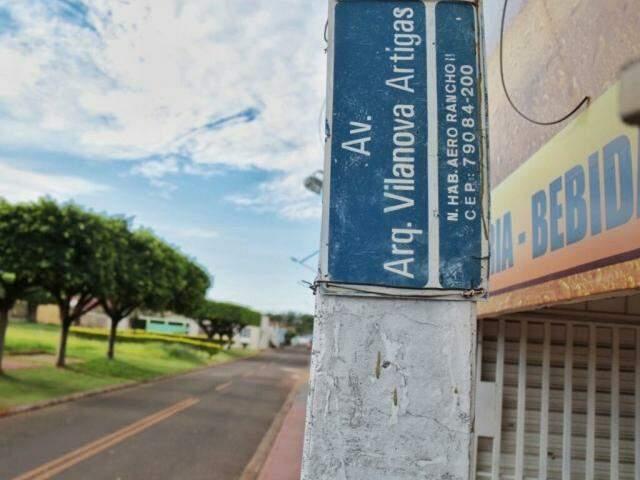 Local onde ocorreu a abordagem (Foto: Fernando Antunes)