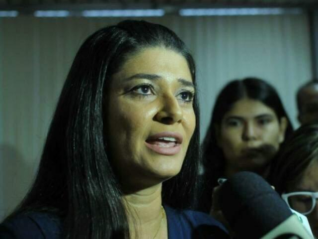 Rose fez as declarações durante entrevista após a posse do novo presidente do TJ (Foto: Alcides Neto)