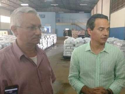 Prefeitura herda 9 toneladas de arroz estragado que iriam para merenda