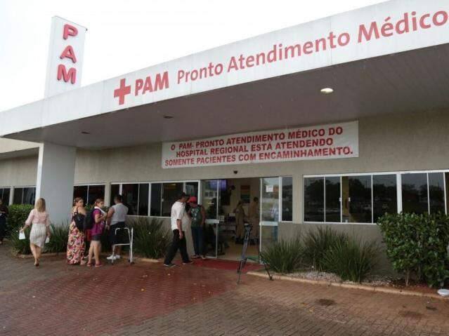 PAM do Hospital Regional (Foto: Fernando Antunes)