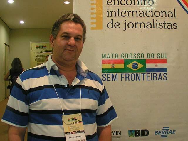Jornalista foi morto com nove tiros. (Foto: Lile Correa)