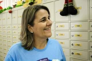 Olga coordena projeto há 10 anos em Campo Grande (Foto: Marcos Ermínio)