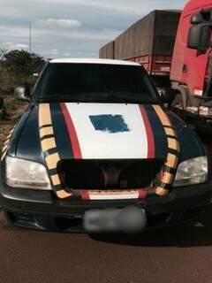 O veículo foi adquirido em um leilão realizado em dezembro do ano passado. (Foto: Divulgação/PRF)