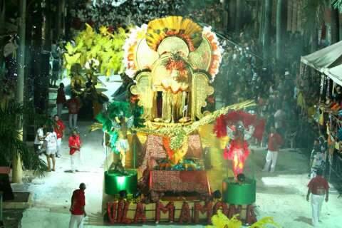 Carnaval de Corumbá terá desfile das escolas do grupo de acesso hoje