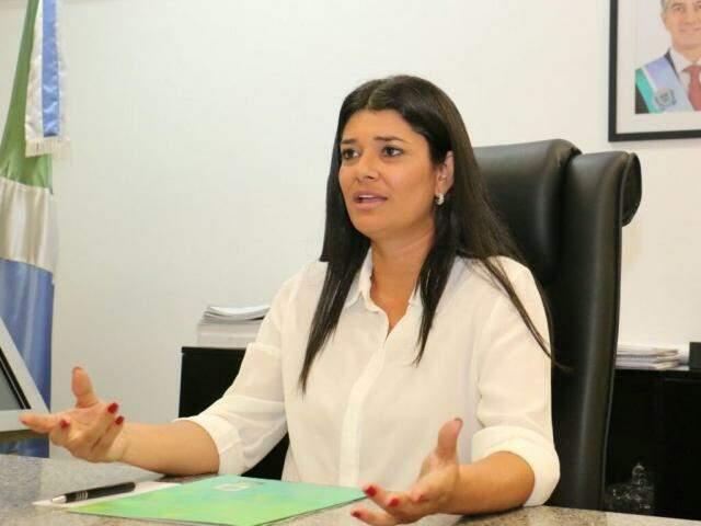 Aos 38 anos, Rose Modesto (PSDB) representa interinamente 2,6 milhões de sul-mato-grossenses. (Foto: Leka/Assessoria)