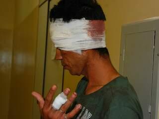 Acusado de brigar com policial está detido por tentativa de homicídio(Foto:Simão Nogueira)