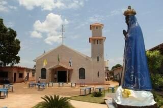 Um dos pontos turísticos em Bandeirantes é o Santuário Estadual de Nossa Senhora Aparecida. (Foto: Marcos Ermínio)
