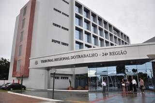 Tribunal Regional do Trabalho em Campo Grande (Arquivo/Campo Grande News)