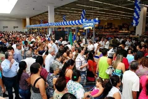 Com investimentos de R$ 10 mi, Comper inaugura amanhã loja na Júlio de Castilho