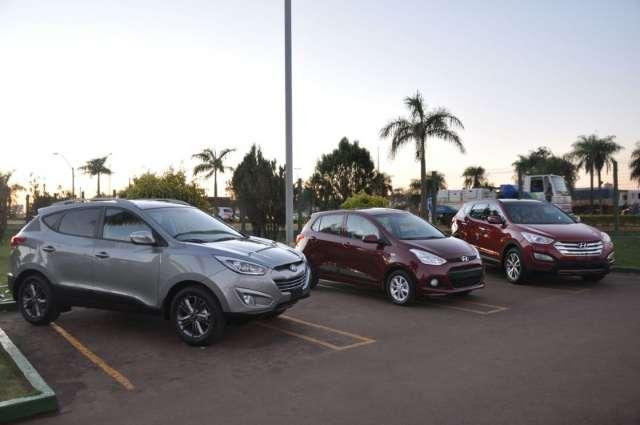 Shopping China realiza exposição de carros Hyundai neste fim de semana