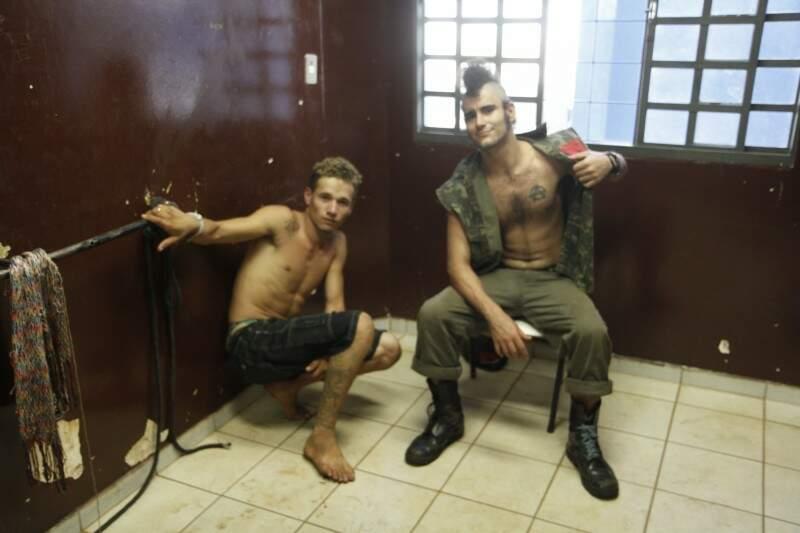 Os dois jovens confessaram o crime (foto: Cleber Gellio)
