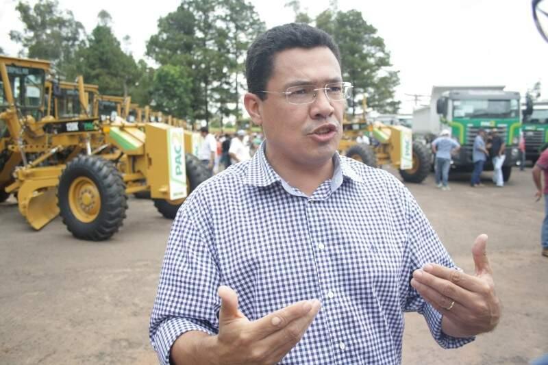 Douglas Figueiredo diz que intenção não é briga com o governo estadual, apenas tornar mais justo o repasse (Foto: Marcos Ermínio)
