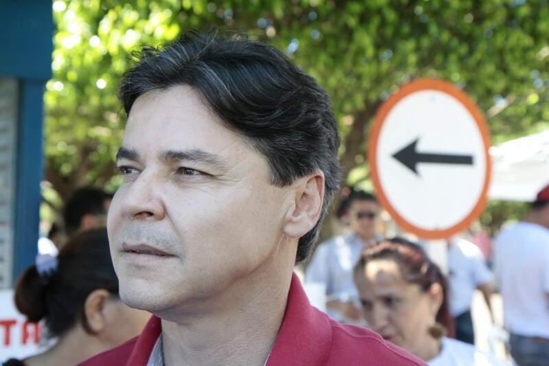 Prefeito de Corumbá vai presidir PT no Estado e garante ser possível conciliar agendas (Foto: Cleber Gellio)