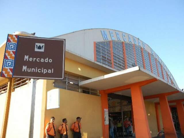 Recurso do Ministério do Turismo vai contemplar revitalização do Mercado Municipal. (Foto: Arquivo)