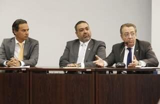 Prefeito eleito, Marquinhos Trad participou do evento promovido pela OAB-MS (Foto: Divulgação)