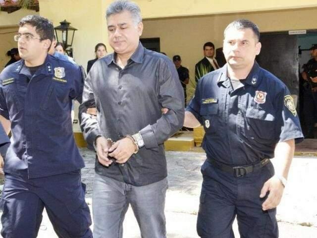 Pavão assumiu, mesmo da cadeia, o controle do tráfico de drogas e armas. (Foto: ABC Color)