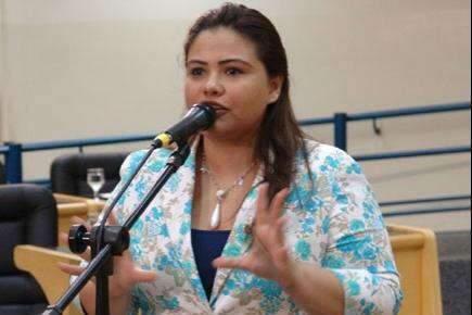 Grazielle Machado não foi convidada, mas aceitaria ser vice de Giroto