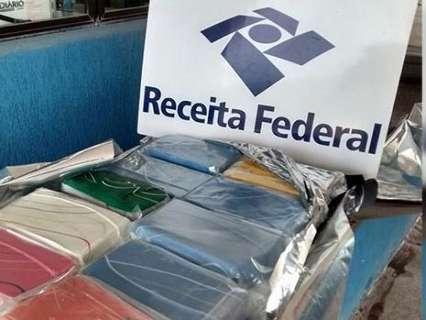 Receita Federal flagra boliviana transportando 11 quilos de cocaína