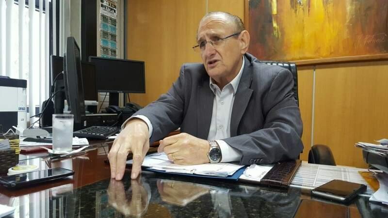 Vice-presidente do TJ-MS vê trabalho do judiciário bem feito em questão carcerária (Foto: Rafael Ribeiro)
