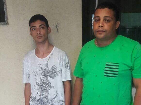 Jackson Rodrigues (de verde) apresentou identidade falsa (Foto: Divulgação)