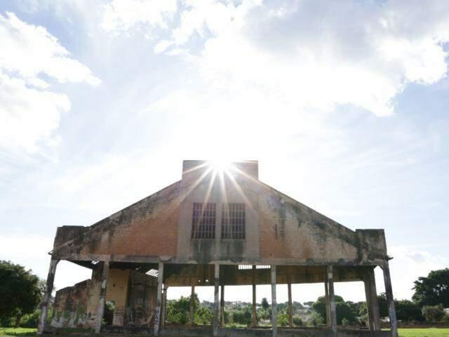 Rotunda faz parte da Esplanada Ferroviária. (Foto: Kísie Ainoã)