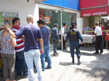 Mulher é assassinada em loja no centro de Campo Grande
