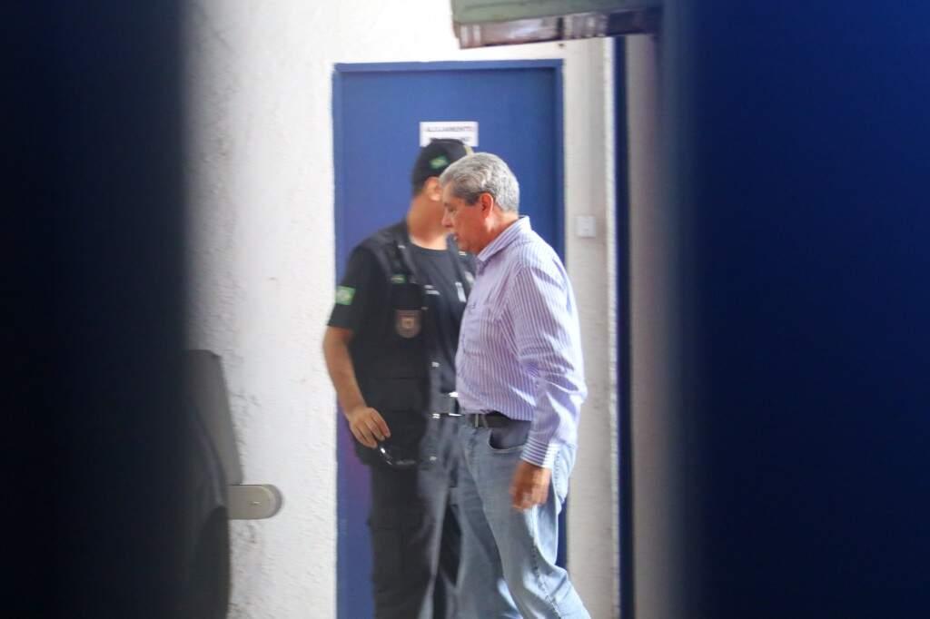 André Puccinelli foi preso e m 20 de julho e desistiu de pré-candidatura ao governo do Estado. (Foto: André Bittar/Arquivo)