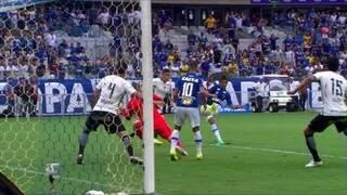 Corinthians perde para o Cruzeiro e fica fora da Libertadores (Foto: Globo Esporte)